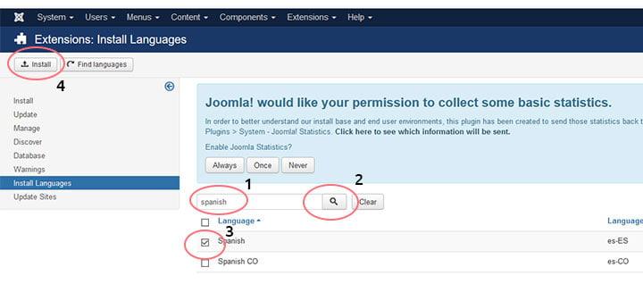 joomla configuracion idioma 2