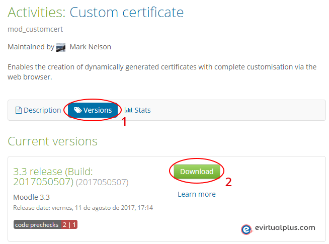 descargar plugin custom certificate