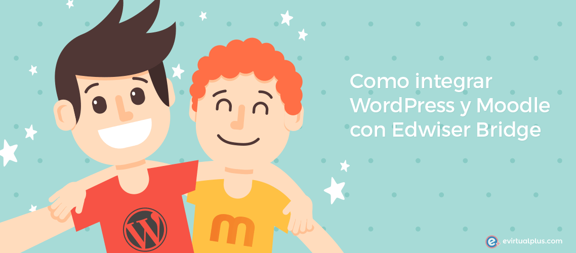 como integrar wordPress y moodle con edwiser bridge