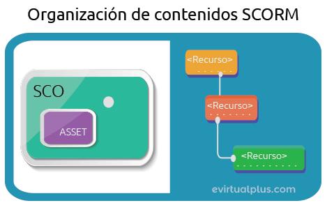 organización de contenidos scorm