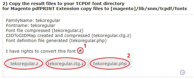 descargando fuentes personalizadas convertidas para custom certificate