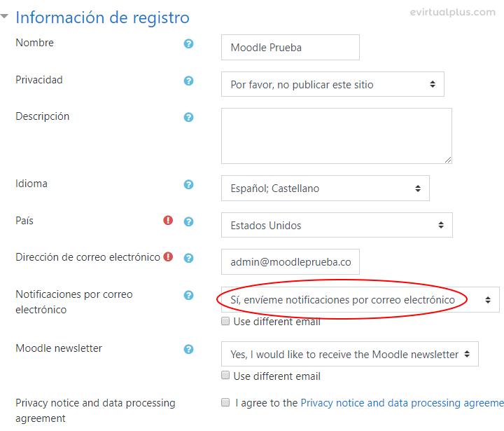 como registrarse en Moodle.net desde moodle