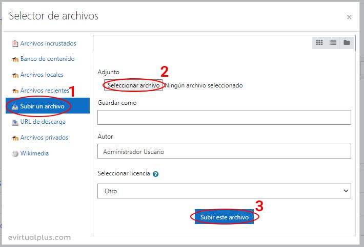 subir archivo word con editor atto en moodle
